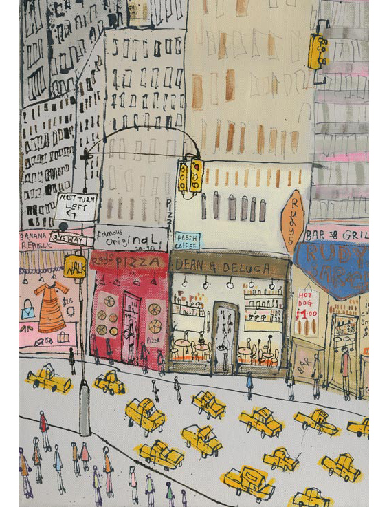 'Empire State NYC'  (DETAIL FROM PREVIOUS IMAGE) Edition size 195