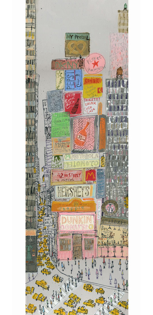 'Dunkin Donuts NYC'  Edition size 150 19 x 60cm   £135