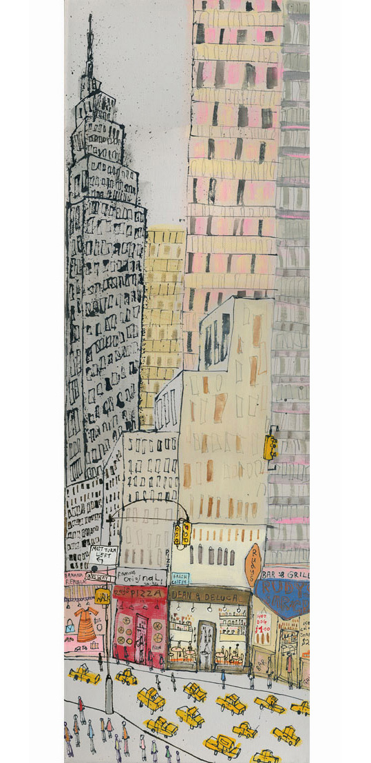 'Empire State NYC'  19 x 60cm  Edition size 150   £140