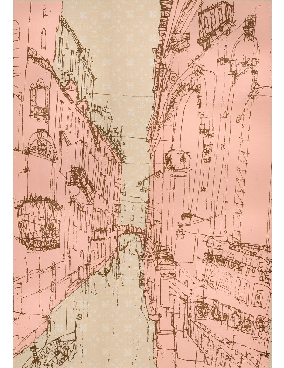 Rio Del Duca Venice  Screenprint  40.5 x 56 cm Edition size 100  £195