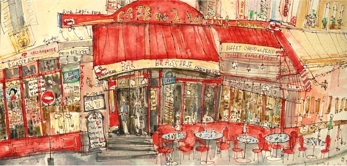 Amelie Café Montmartre