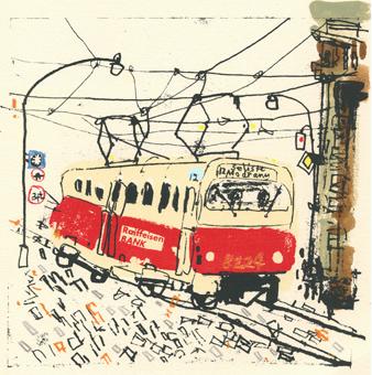 Raiffeisen Tram Prague