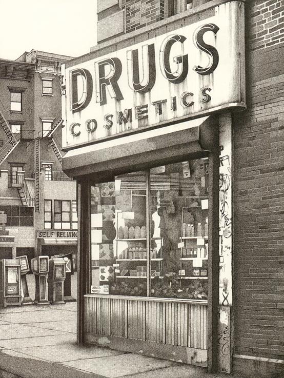 'Drugstore, Manhattan' by Nick Tankard