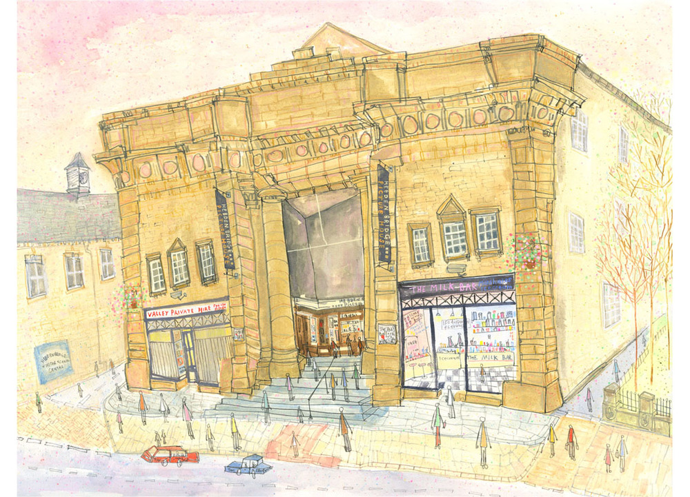 'The Picture House Hebden Bridge'  Giclee print 40 x 30 cm Edition size 150  £145