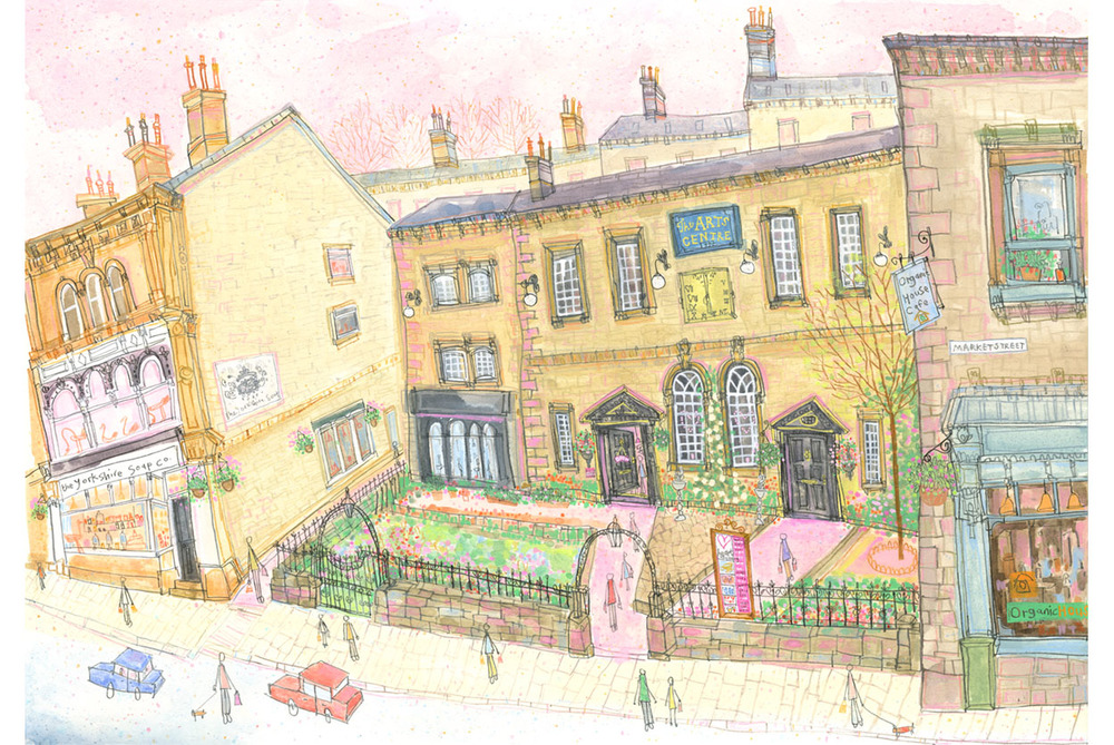 'Heart Gallery, Hebden Bridge'  Giclee print   42 x 29.7 cm Edition size 150     £140