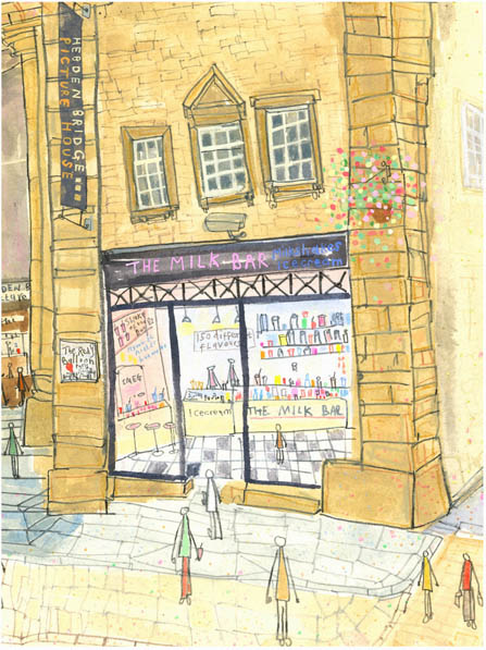 The Milk Bar Hebden Bridge