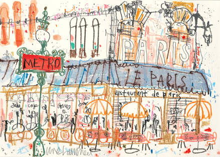 Parisian Sketchbook