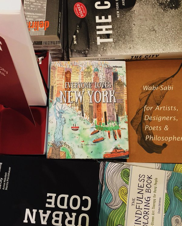 Spotted in the iconic   Strand Bookstore   in the Flatiron District New York City!