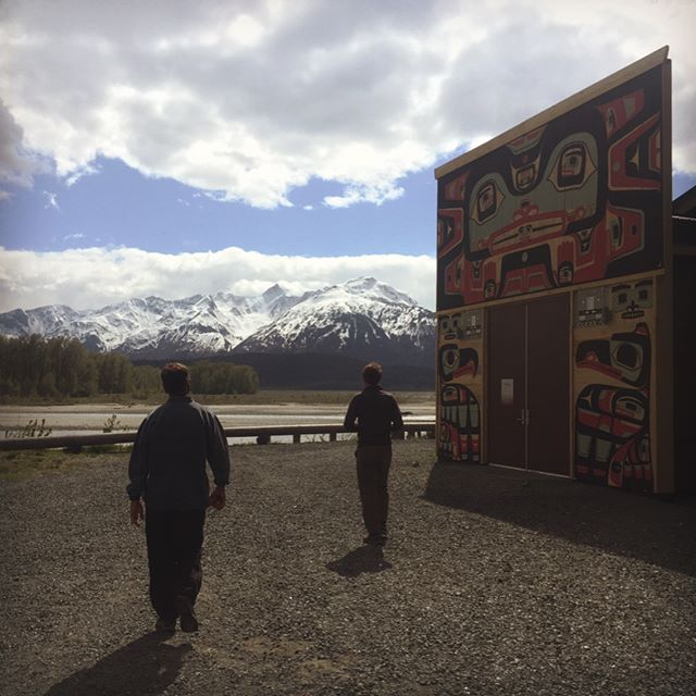 The Wisewood team and biomass partners conducted a site visit for a #biomassboiler at a school in #klukwan AK. The area is stunning with mountain vistas, traditional artwork, and lots of history.