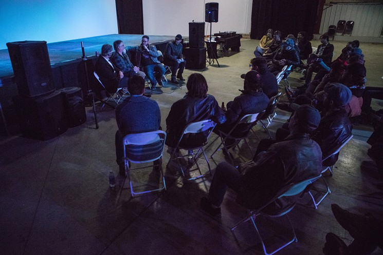 The Colorado Music Collective meetings draw musicians, promoters, bookers and more. Photo by Scott McCormick