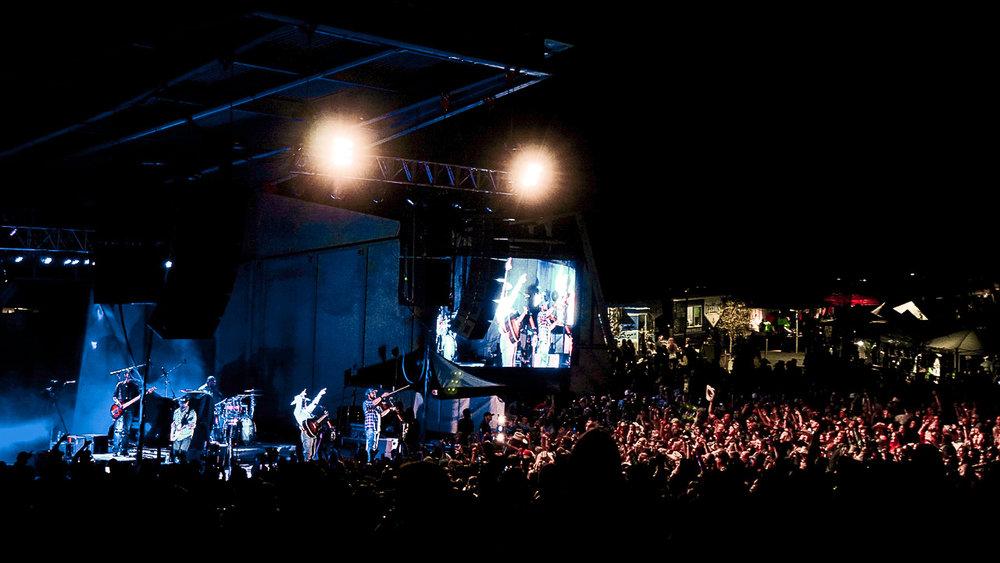 Levitt Pavilion beat out Red Rocks Amphitheatre as Denver's Best Outdoor Venue. Photo by Joel Rekiel