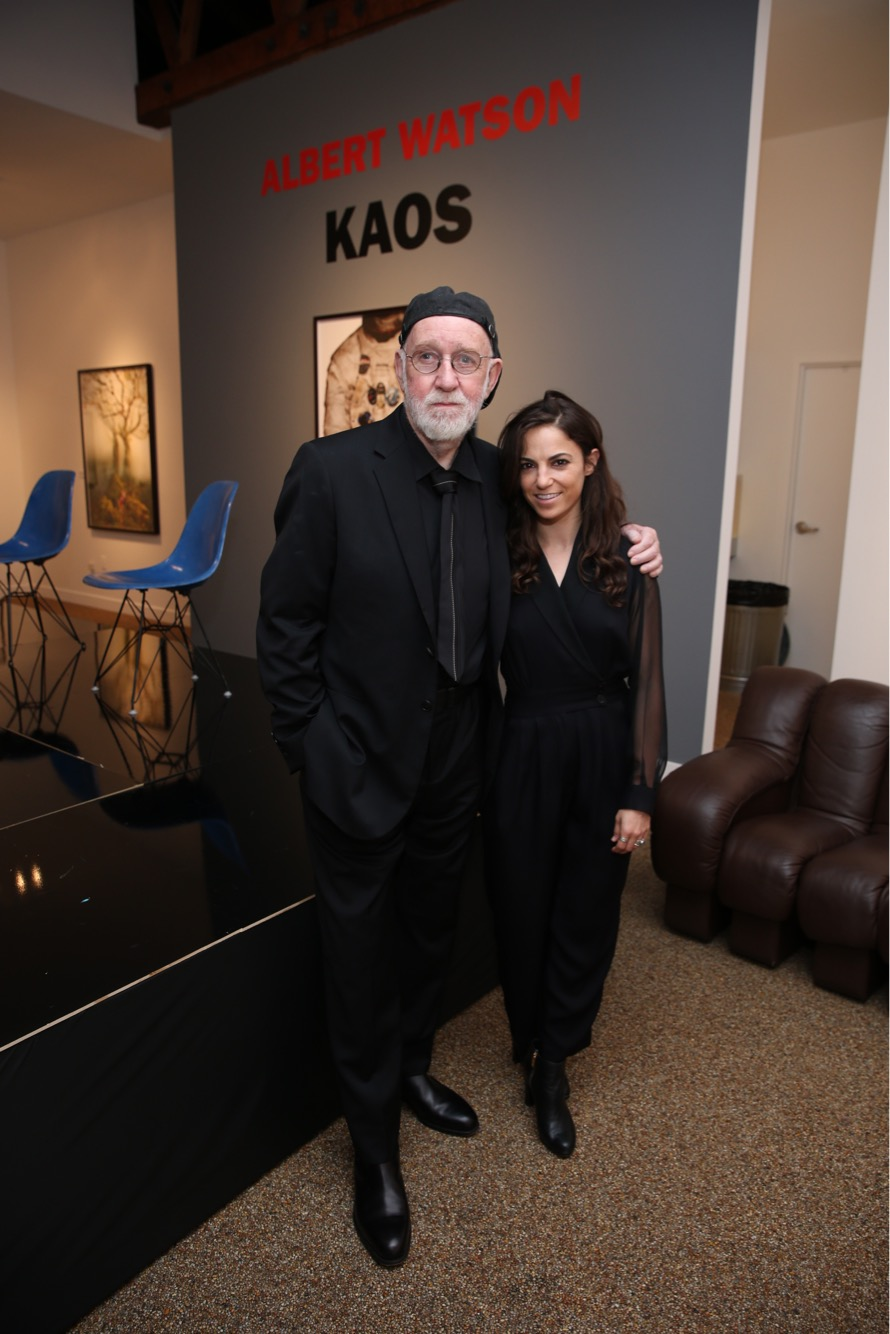 Me and Albert Watson at his Opening