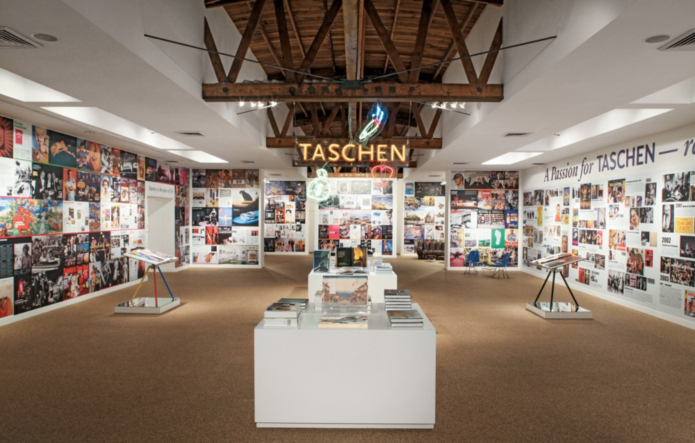 "Gallery Interior for ""A Passion For Taschen"""
