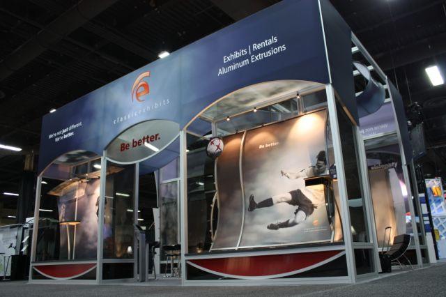 Classic Exhibits' 20' x 30' @ Exhibitor 2012