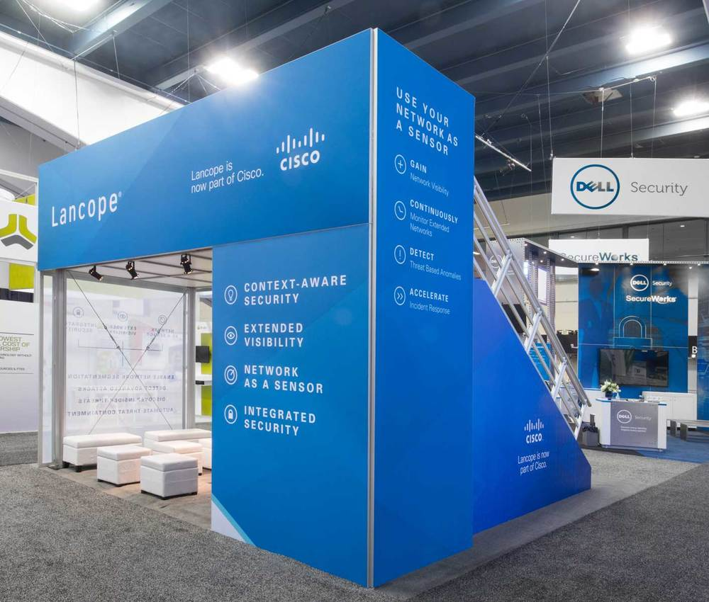 Cisco / Lancope double deck, 2016