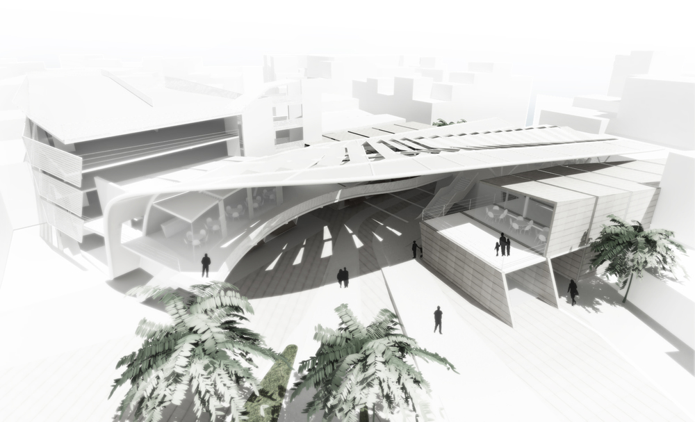 "MUNICIPAL MARKET PROJECT: 4th  AWARD IN THE EUROPEAN ARCHITECTURAL COMPETITION ""MUNICIPAL MARKET & PARKING IN LARNACA"""