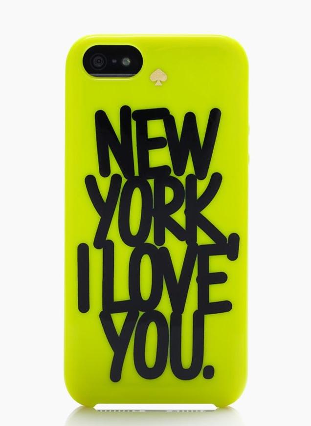 KSNY X DARCEL NEW YORK I LOVE YOU RESIN IPHONE CASE
