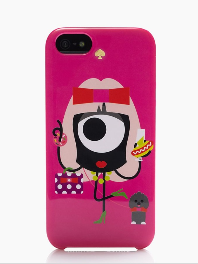 KSNY X DARCEL GIRL RESIN IPHONE 5 CASE