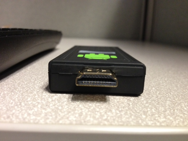 HDMI-out port.
