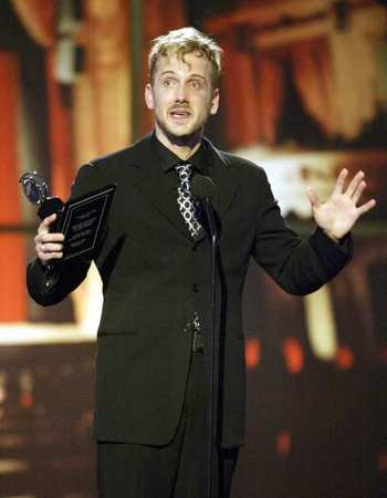 Jeff Whitty at the Tony Awards, 2004.