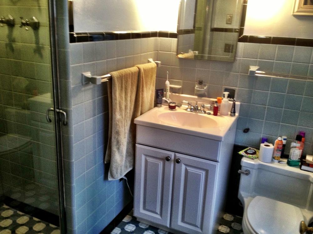 Master Bath - Original Tile