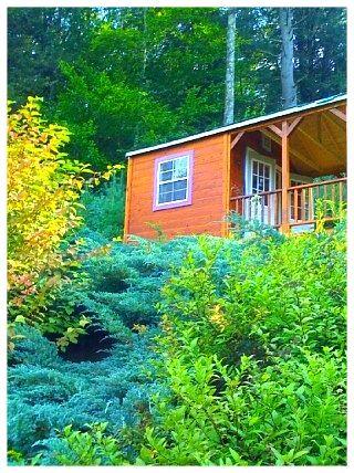 I Spy a Writers Cottage!