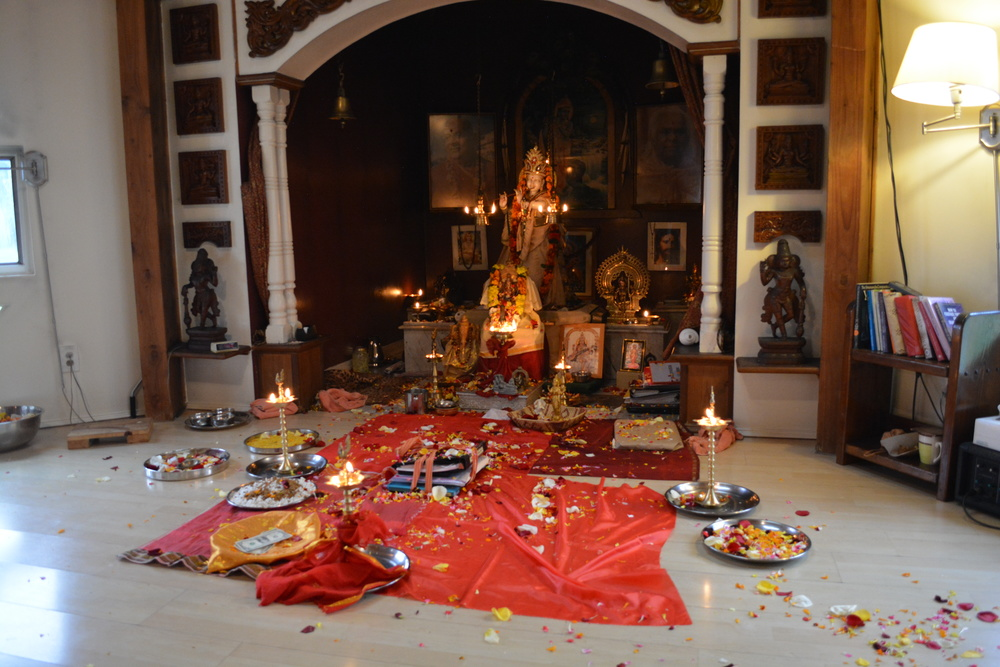 Altar for Vijayadashami