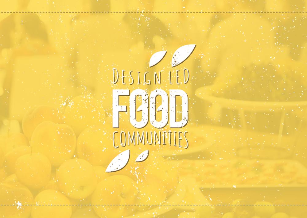 Design-Led Food Communities