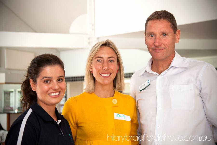 Belinda from Greater Shepparton City Council, Emily from Sustainable Everyday and Tony from Greater Shepparton City Council