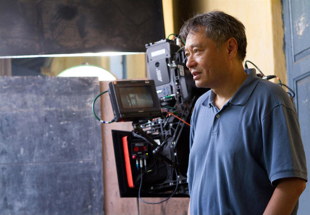 "Director Ang Lee on set for ""Life of Pi"""