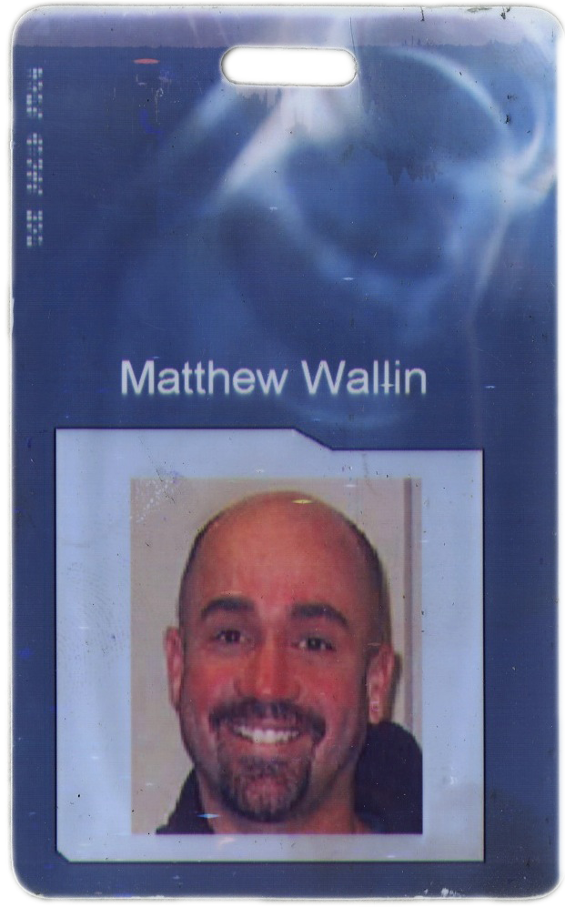 My old ESC Entertainment (Warner Bros) ID badge