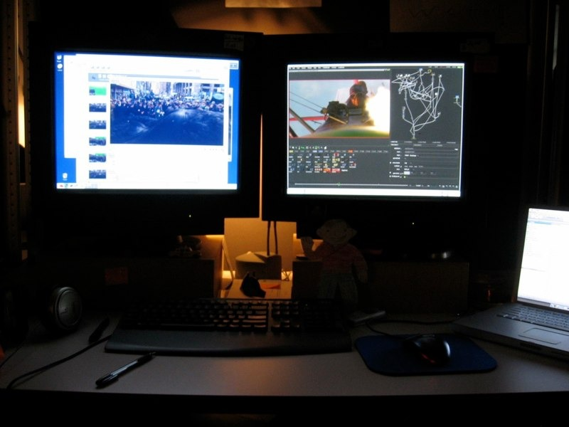 My workstation for King Kong.