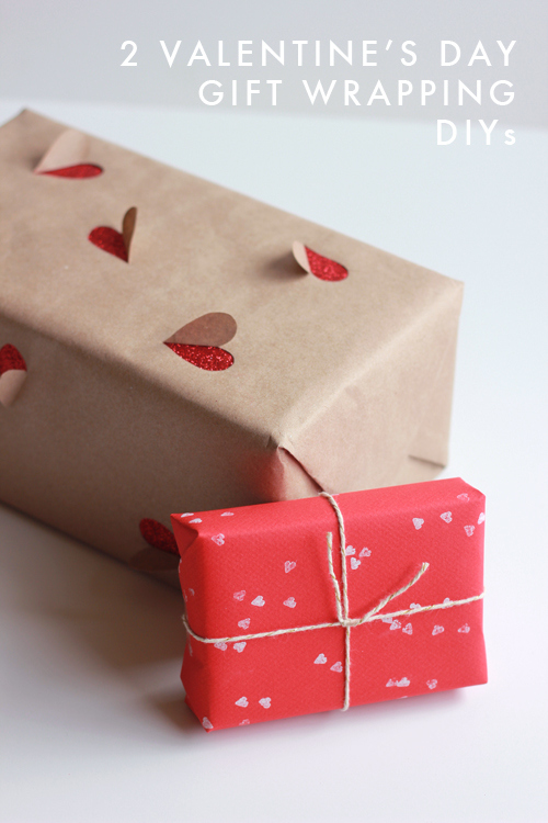 Valentine Wrapping DIY