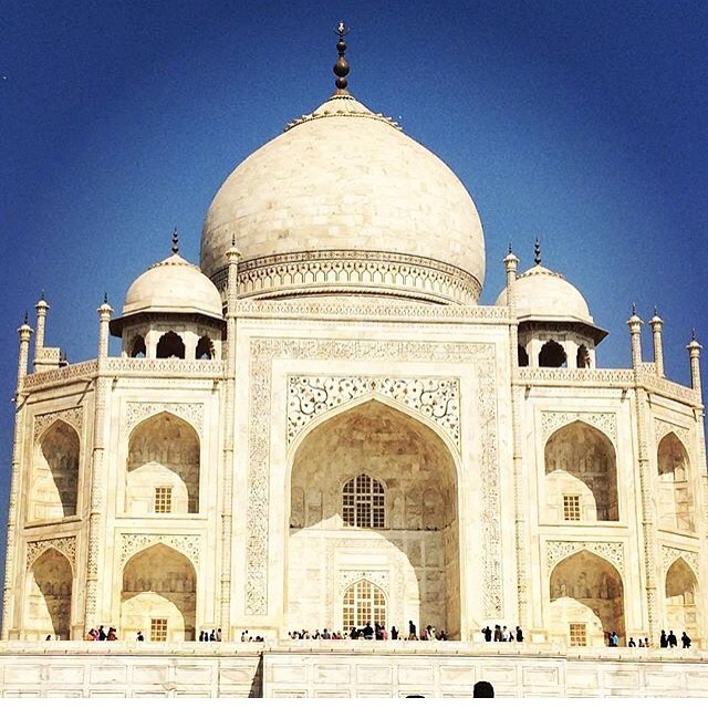 the Taj Mahal photo by AJ Tallo