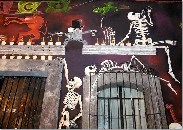 street art in oaxaca, mexico