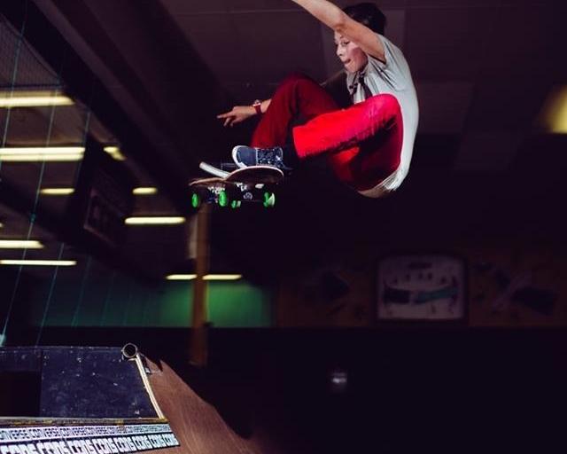 Skateboarding by Ivan Glenney