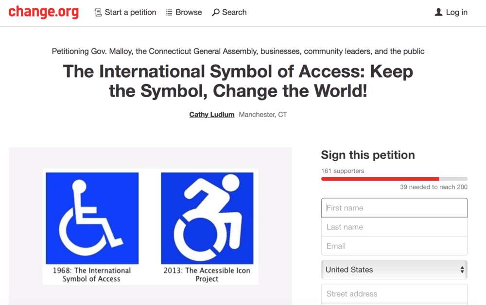 The Accessible Icon Project