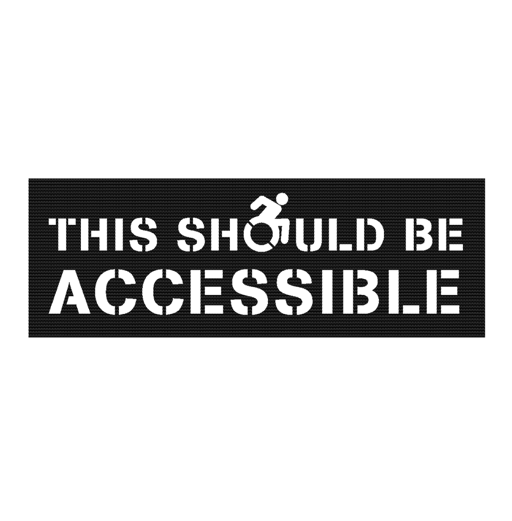 THE STORY OF THE ACCESSIBLE ICON PROJECT (2016) Experiential Learning in Philosophy - The 'Accessible Icon Project,' a graffiti campaign to change disability signage is discussed here in the context of student collaboration.