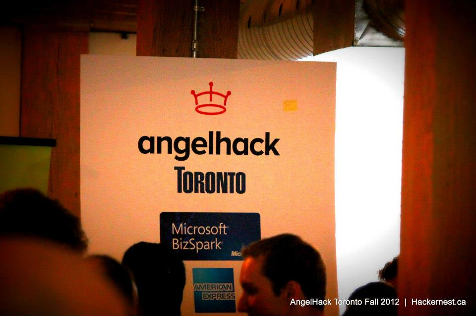 Angelhack was run by the awesome guys at Hackernest who put on great monthly socials in Toronto