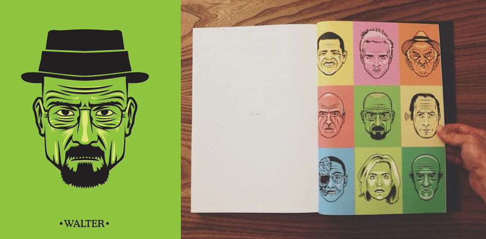 Breaking Bad coffee table book | AMC