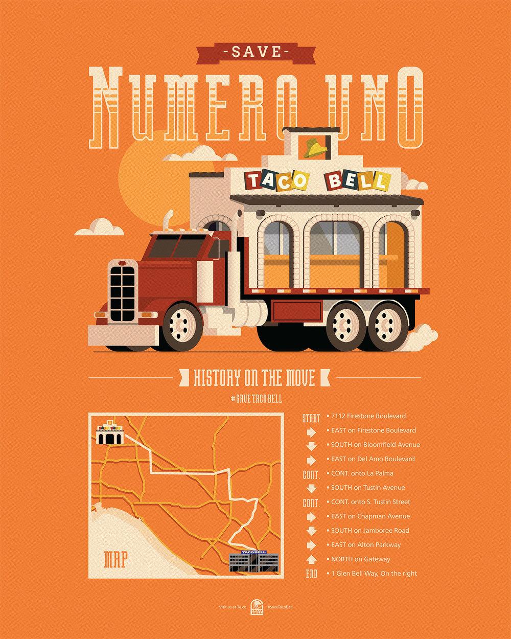 """""""Save Numero Uno"""" poster"""
