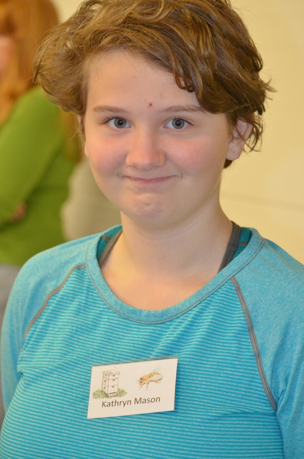 Kathryn Mason   Second Winner of the 2016-2017 Judy Wilhelm Youth Beekeeping Scholarship Award