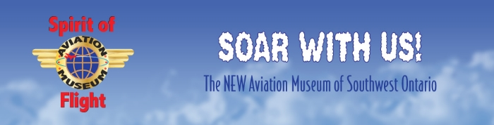 Please visit and support our friends at the 427 (London) Wing, and the museum they have recently founded, The Spirit of Flight Aviation Museum.