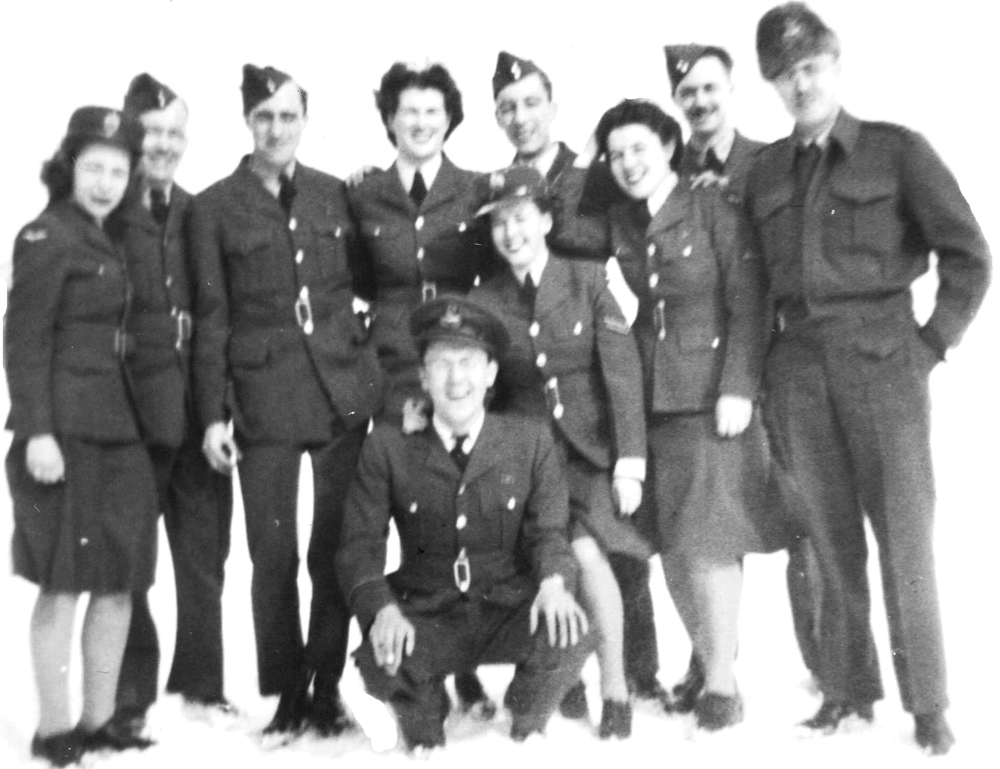 Radar personnel, Clinton Radio School, 1945-46