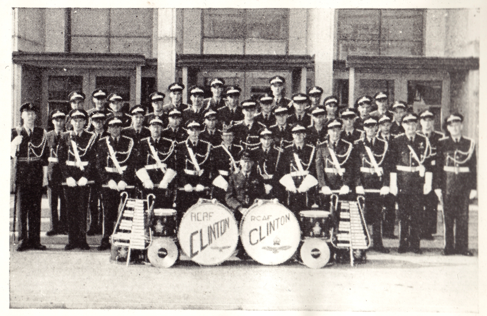 Clinton Band, Clinton RCAF Base, 1956