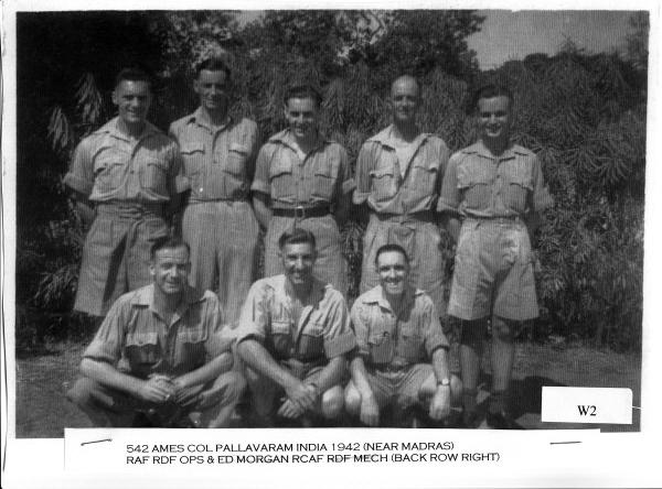 542 AMES Crew, 1942