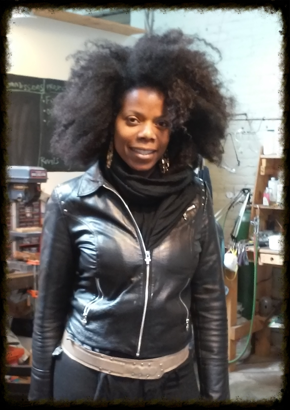 "Lia designed and made her own leather belt with leather she brought in.    ""Totally Amazing One on the Best classes I've ever experienced. Michele is so knowledgeable, great teacher, and super patient. I'll be taking another class. More than 5stars!!!!!!!!""    -Lia (West Philly)"