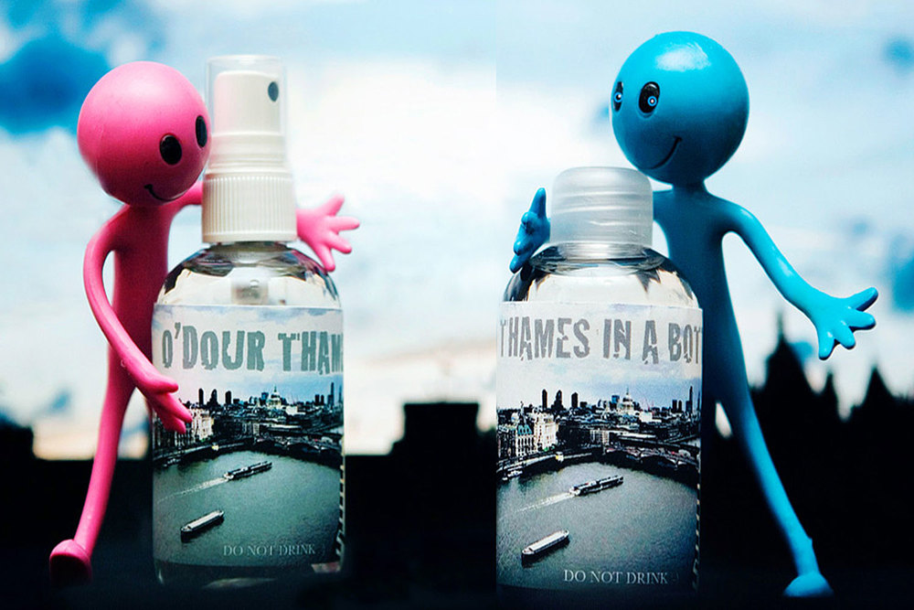 Thames in a Bottle / Eau de Thames