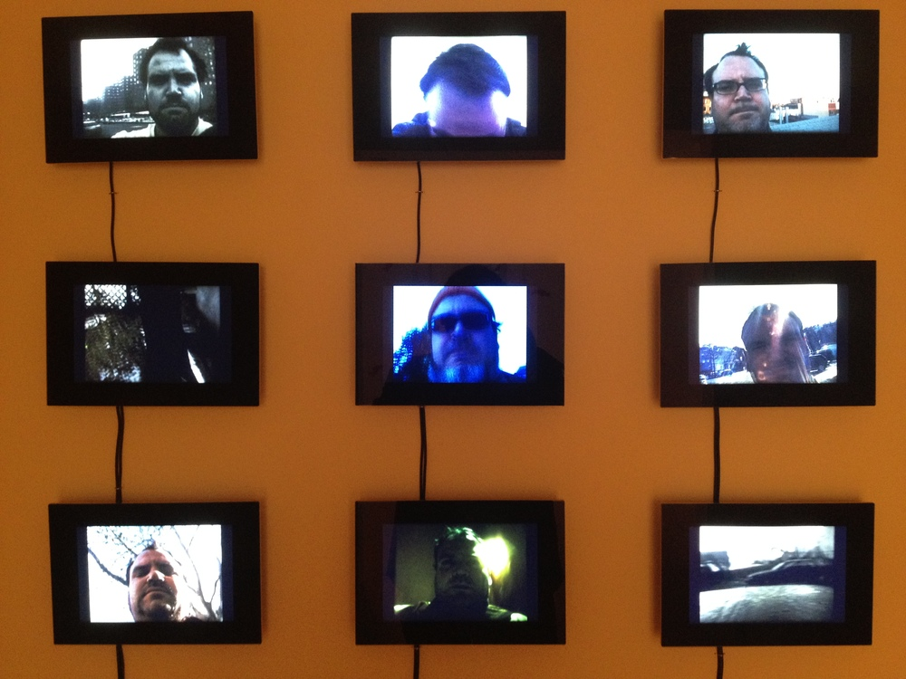 Installation View of There's Nothing Wrong With Me That Hasn't Always Been Wrong With Me,  2012