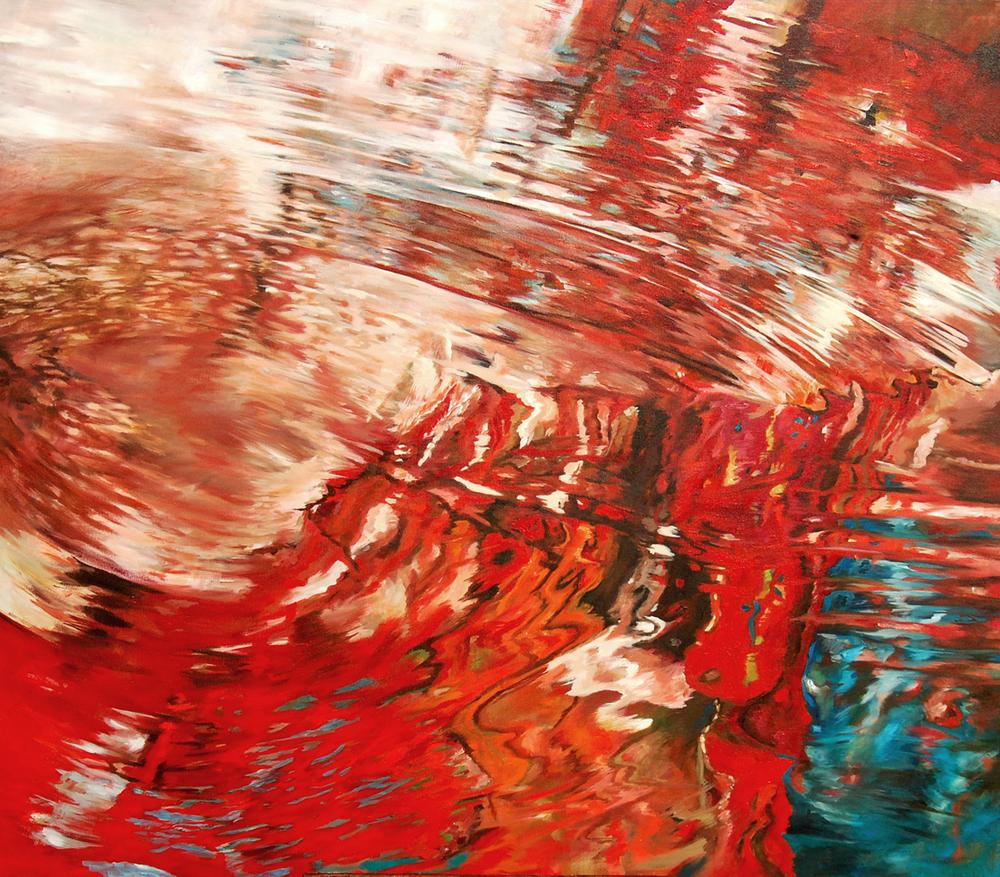 ESTELA  Acrílico sobre tela, 128 x 148 cm. 2008.
